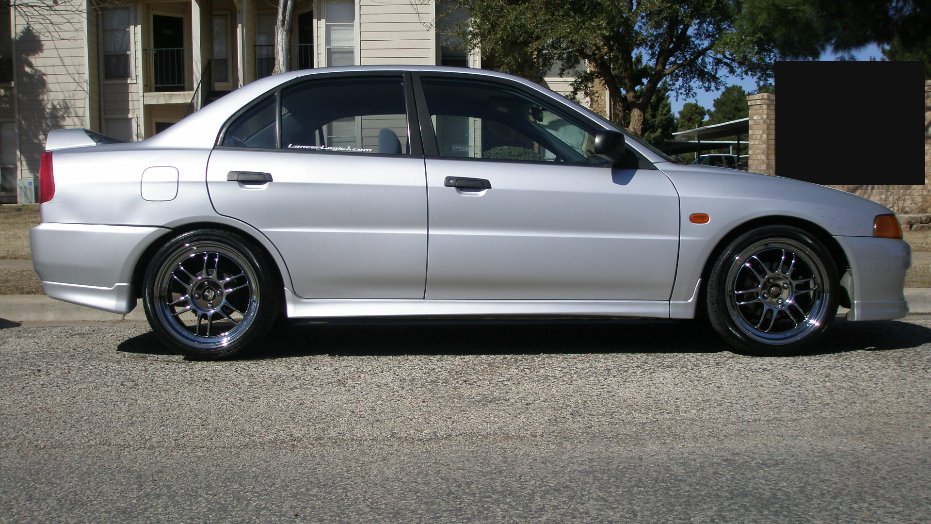 Mitsubishi Mirage 2001 Black Images & Pictures - Becuo